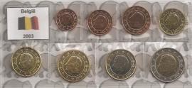 België UNC serie 2003