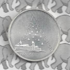 """Duitsland 10 euromunt 2009 (43e) """"100 Jaar Jeugdherbergen"""" (nikkel)."""