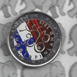 "Finland 2 euromunt CC 2013 ""150 jaar Rijksdag"" (kleur 2 x)"