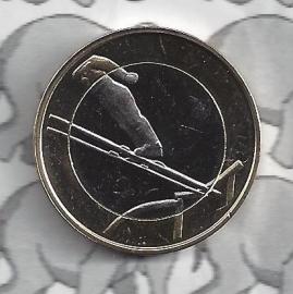 "Finland 5 euromunt 2016 (48e) ""Sport, schansspringen"""