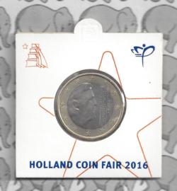 "Nederland 1 euromunt 2016 ""Holland coinfair"""