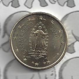 San Marino 50 eurocent 2020