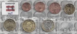 Oostenrijk UNC serie 2018 (7 munten)
