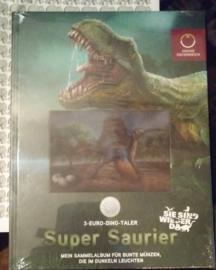 Oostenrijk boek voor dinosaurus munten