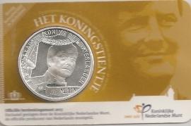 """Nederland 10 euromunt 2013 """"Koningstientje"""" (in coincard)"""