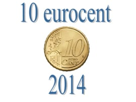 Luxemburg 10 eurocent 2014