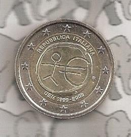 "Italië 2 euromunt CC 2009 ""EMU"""