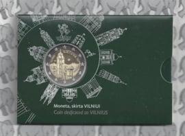 """Litouwen 2 euromunt CC 2017 (4e) """"Vilnius Cultuurstad"""" (in coincard)"""
