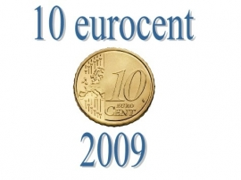 Luxemburg 10 eurocent 2009