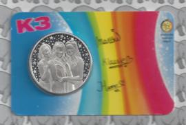 "België 2018 ""K3"" (penning in coincard)"