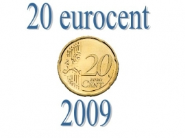 Portugal 20 eurocent 2009