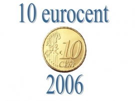 Portugal 10 eurocent 2006