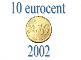 Portugal 10 eurocent 2002