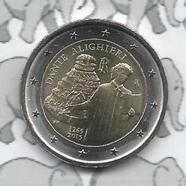 """Italië 2 euromunt CC 2015 """"750ste geboortedag Dante Alighieri"""""""