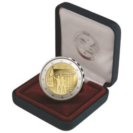 """België 2 euromunt CC 2018 """"50 jaar mei 1968"""" proof in doosje"""