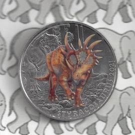 "Oostenrijk 3 euromunt 2021 ""Styracosaurus Albertensis"" (8 van 12)"