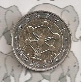 """België 2 Euromunt CC 2006 """"Atomium"""""""