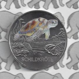 """Oostenrijk 3 euromunt 2019 """"Schildpad"""" (10 van 12)"""