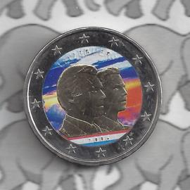 """Luxemburg 2 euromunt CC 2006 """"Guillaume"""" (kleur x)"""