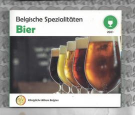 "België BU set World Money Fair 2021  ""Bier"""