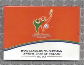 Ierland BU set 2003 + 5 €