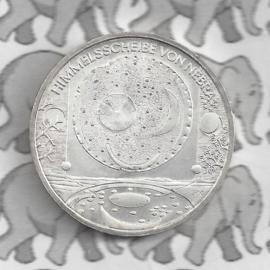 """Duitsland 10 euromunt 2008 (38e) """"Hemelschijf van Nebra"""" (nikkel)."""