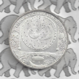 "Duitsland 10 euromunt 2008 (38e) ""Hemelschijf van Nebra"" (zilver)."