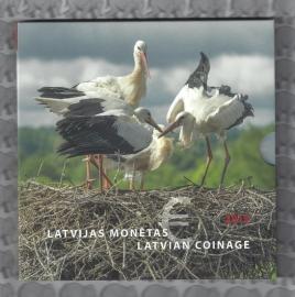 "Letland BU set 2015 ""zwarte ooievaar"""