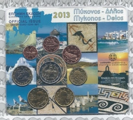 Griekenland BU set 2013