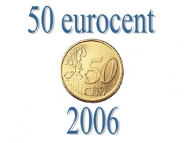 Luxemburg 50 eurocent 2006
