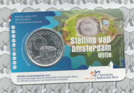"Nederland 5 euromunt 2017 ""Stelling van Amsterdam vijfje"" (in coincard)"
