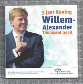 "Nederland BU set 2018 ""5 jaar Koning Willem-Alexander"""