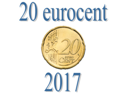 Portugal 20 eurocent 2017