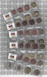 Duitsland 5 x UNC serie 2020, letters A, D, F, G en J