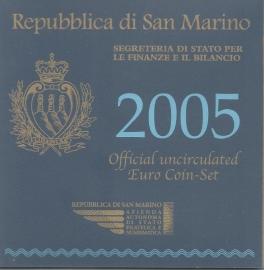 """San Marino BU set 2005 """""""""""