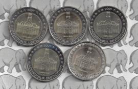 """Duitsland 2 euromunt CC 2009 """"Saarland"""" (5 letters)"""