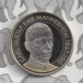 "Finland 5 euromunt 2017 (56e) ""Presidenten, Carl Gustaf Emil Mannerheim"""