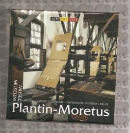 """België BU set 2012 """"Plantin-Moretus Museum"""" (gekleurde penning)"""