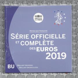 Frankrijk BU set 2019