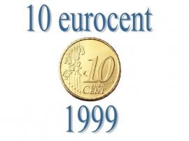 Nederland 10 eurocent 1999