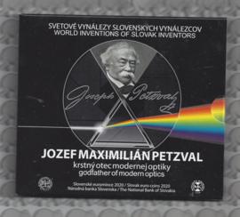 "Slowakije BU set 2020 ""Jozef Maximilian Petzval"""