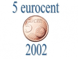 Portugal 5 eurocent 2002