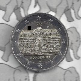 """Duitsland 2 euromunt CC 2020 """"Slot Sanssouci, (Brandenburg)"""""""