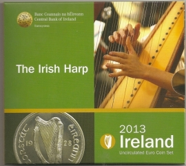 "Ierland BU set 2013 ""the Irish Harp"""