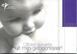 """Nederland BU set 2003 """"Babyset """""""