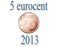 Luxemburg 5 eurocent 2013