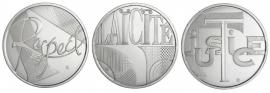 Frankrijk 3 x 25 euromunt 2013 zilver
