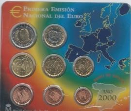 Spanje BU set 2000