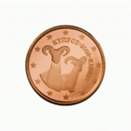 Cyprus 1 eurocent 2009