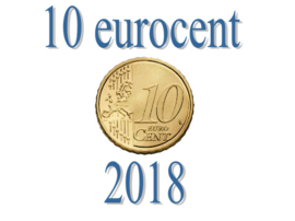 Portugal 10 eurocent 2018